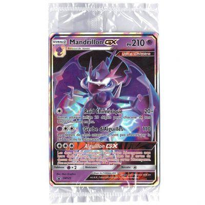 Cartes promo SL7.5 - Majesté des Dragons - Mandrillon GX SM125