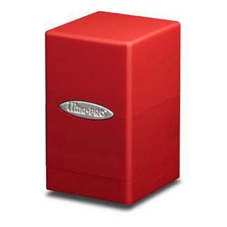 Boites de Rangement Satin Tower Deck Box Rouge