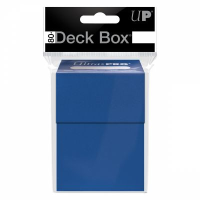 Boites de Rangement Deck Box Ultrapro - Bleu Roi
