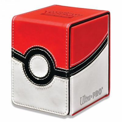 Boites de Rangement Deck Box Pokemon - Alcove Flip - Poke Ball