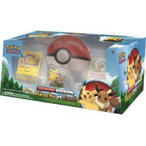 Coffret Collection Pokéball : Pikachu et Evoli