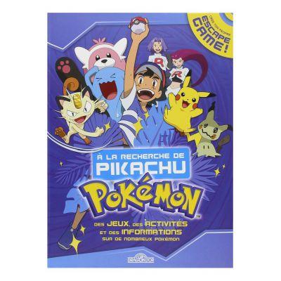 """Produits Dérivés Livre Escape Game """" À La Recherche De Pikachu """""""