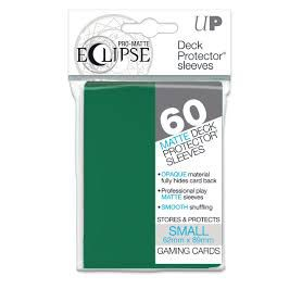 Protèges Cartes Format JAP Sleeves Ultra-pro Mini Par 60 Eclipse Matte Vert