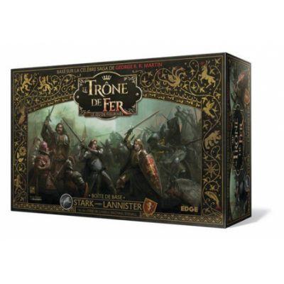 Figurines Le Trône de Fer - Stark Contre Lannister : le Jeu de Figurines