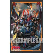 Protèges Cartes Format JAP Import Jap Par 70 - Mini Vol. 370 : Covert Demonic Dragon, Magatsu Storm (Nubatama)