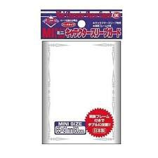 Protèges Cartes Format JAP Kmc - Mini Clear Character Sleeves Silver Guard (Extra Deck Cover)