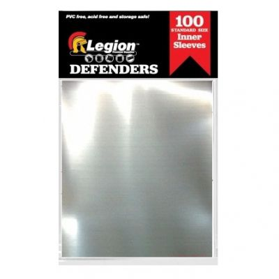 Protèges Cartes Legion - Sleeves Standard Par 100 - Defenders ( Sous Protection )