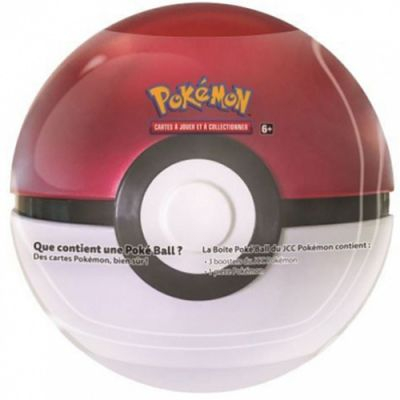 Pokébox Poké Ball Tin (3 boosters + 1 jeton)