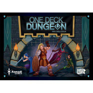 Coopératif One Deck Dungeon