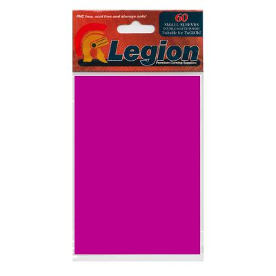 Protèges Cartes Format JAP Legion - Sleeves Mini Par 60 Matte - Violet
