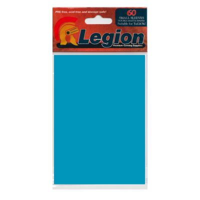 Protèges Cartes Format JAP Legion - Sleeves Mini Par 60 Matte - Bleu