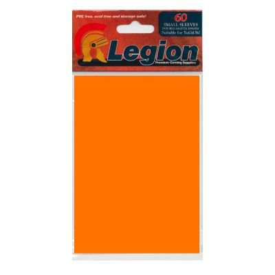 Protèges Cartes Format JAP Legion - Sleeves Mini Par 60 Matte - Orange