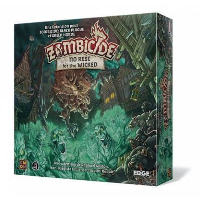 Coopératif Zombicide Black : No Rest for the Wicked