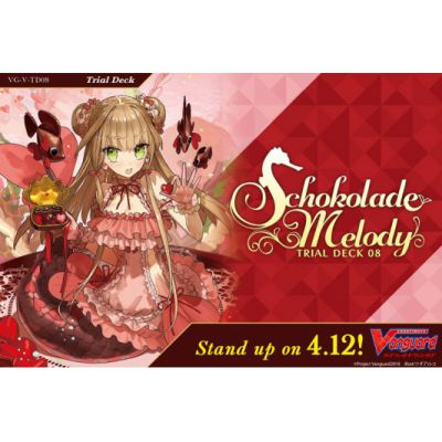 Decks VGE-V-TD08 - Trial Deck Vol. 08: Schokolade Melody (Clan Bermuda Triangle)