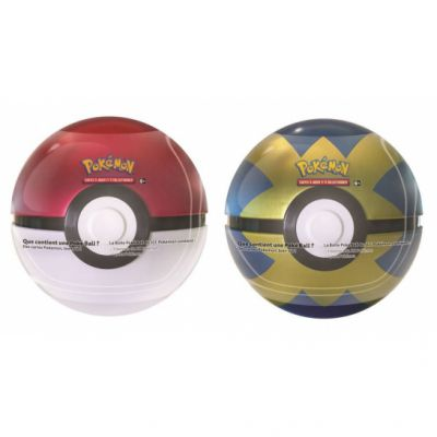 Pokébox Lot Poké Ball Tin + Quick Ball Tin