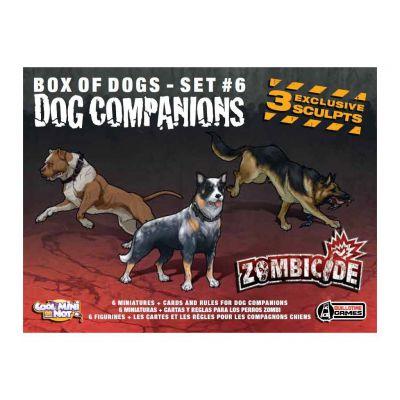 Coopératif Zombicide : Dog Companions