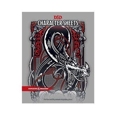 Aventure Dungeons & Dragons ® Cinquième édition - Character Sheets