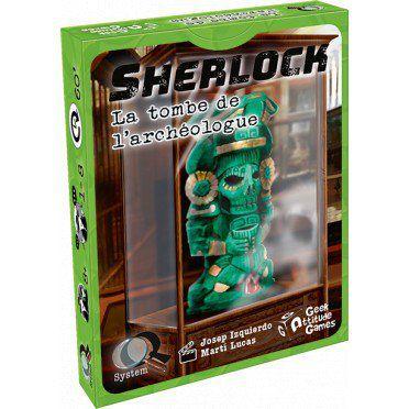 Enigme Q-System - Sherlock : La Tombe de l'Archéologue
