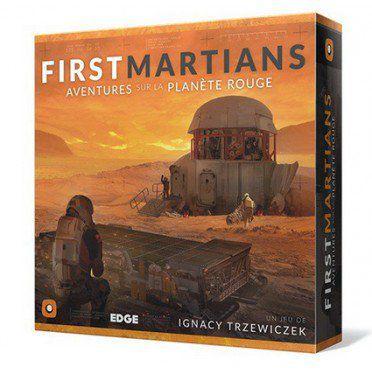 Stratégie First Martians: Aventures sur la Planète Rouge