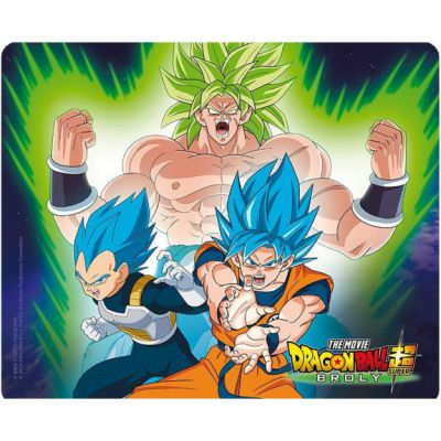 Produits Dérivés Tapis De Souris - Broly VS Goku & Vegeta