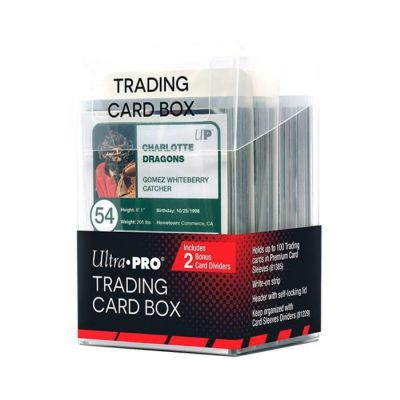 Boites de Rangement Deck Box Ultrapro - Transparent - Trading Card Box