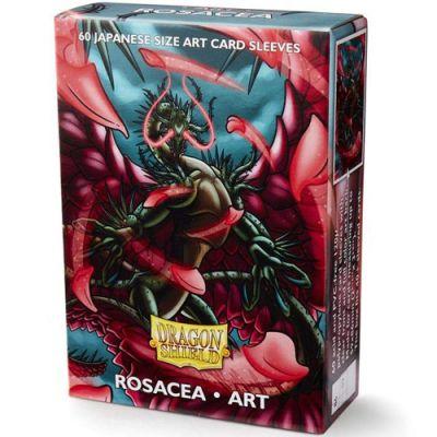 Protèges Cartes Format JAP Sleeves Dragon Shield Mini Rosacea Art par 60