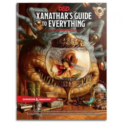 Jeu de Rôle D&D5 Xanathar's Guide to Everything