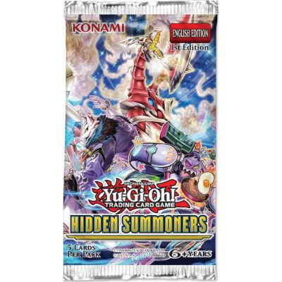 Boosters Anglais Yu-Gi-Oh! - Hidden Summoners ( Les Invocateurs Cachés en Anglais)