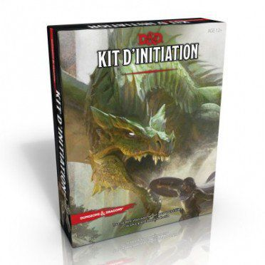 Jeu de Rôle D&D5 - Kit d'Initiation