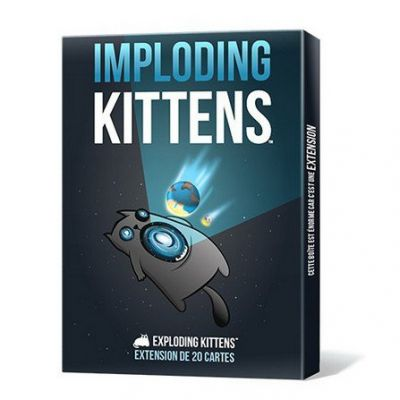 Jeu de carte Imploding Kittens