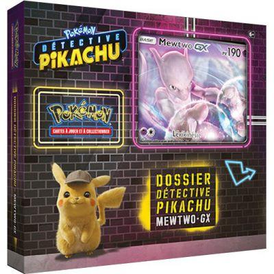 Coffret Dossier Détective Pikachu : Mewtwo GX