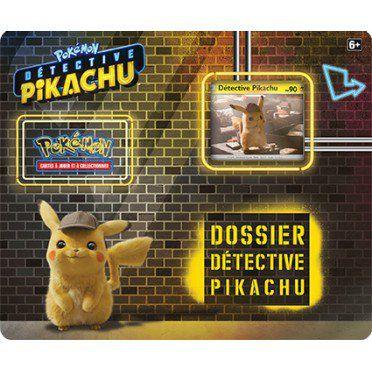 Boosters Français Tripack 3 Boosters - Dossier Détective Pikachu