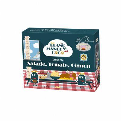 Jeu de carte Blanc Manger Coco << Salade, Tomate, Oignon >>