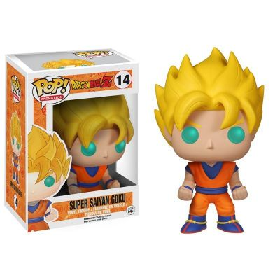 Jouets & Figurines Figurine Funko POP! Animation (14) Super Saiyan Goku 10 cm
