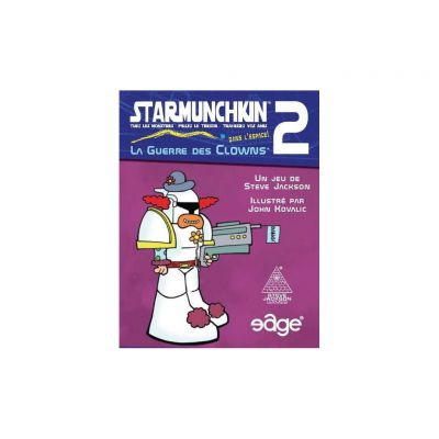 Jeu de carte Star Munchkin 2 - La Guerre des Clowns
