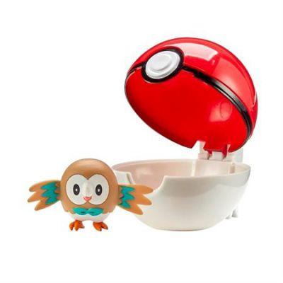 Figurine Clip'n Go Poké Ball  - Brindibou + Pokéball