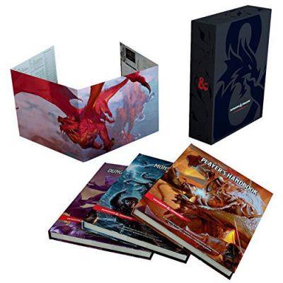 Jeu de Rôle D&D5 Core Gift Set ( Player's Handbook, Dungeon Master's Guide, Monster Manual, DM Screen )