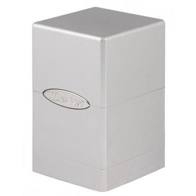 Boites de Rangement Satin Tower Deck Box Métallique Silver