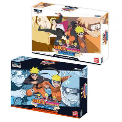 Packs Spéciaux Naruto Boruto : Card Game - Lot de 2 Set - Naruto & Naruto Shippuden + Naruto Shippuden et Boruto