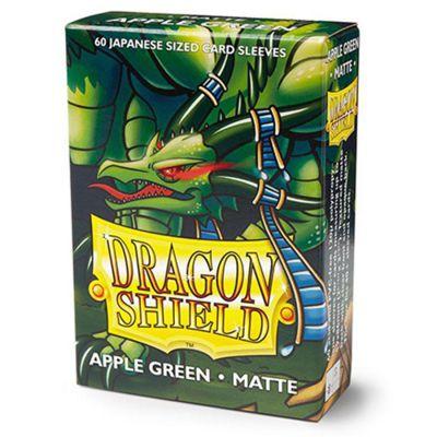 Protèges Cartes Format JAP Sleeves Dragon Shield Mini Apple Green Matte - par 60