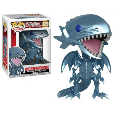 Jouets & Figurines Figurine Funko POP! Animation (389) Blue Eyes White Dragon (Dragon Blanc aux Yeux Bleus) 9 cm