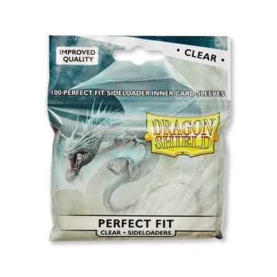 Protèges Cartes Sleeves Dragon Shield Standard Perfect Fit sideload - par 100