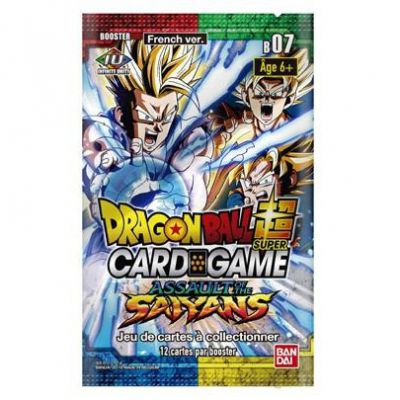 Boosters Français Serie 7 - B07 - Assault of the Saiyans