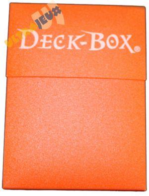 Boites de Rangement Deck Box Ultrapro - Orange Songuine