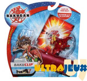 Boosters Packs Bakuclip New Vestroia + Bakugan Rouge