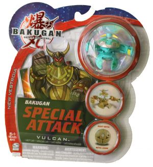 Boosters Packs Bakugan Attaque Spéciale - Vulcan Ventus