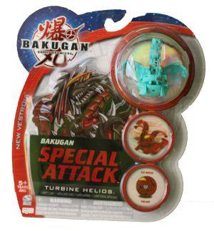 Boosters Packs Bakugan Attaque Spéciale - Turbine Helios Ventus