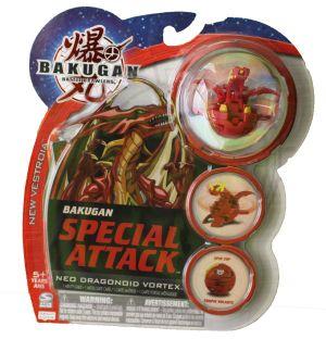 Boosters Packs Bakugan Attaque Spéciale - Neo Dragonoid Vortex Pyrus
