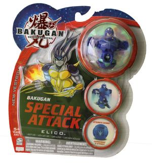 Boosters Packs Bakugan Attaque Spéciale - Elico Aquos