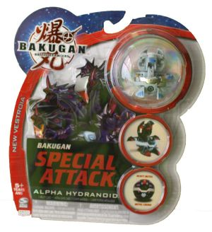 Boosters Packs Bakugan Attaque Spéciale - Alpha Hydranoid Haos